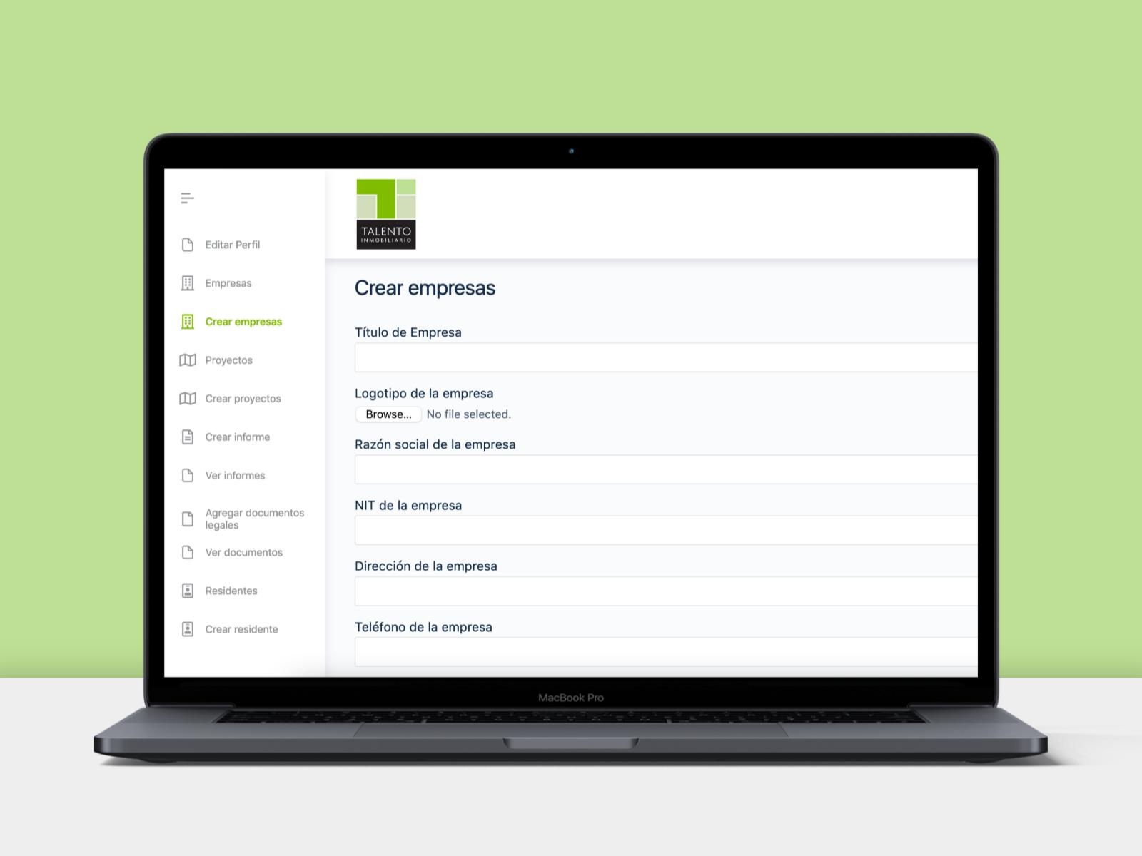 App gestión de informes 2