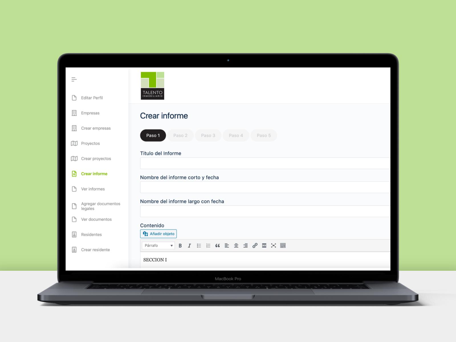 App gestión de informes 3